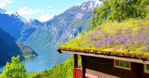 Lei hytte i Norge fra 2432 NOK per uke